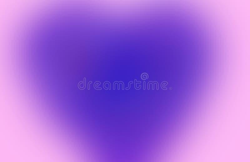 Rose de gradient et conception horizontale moderne bleue photo stock