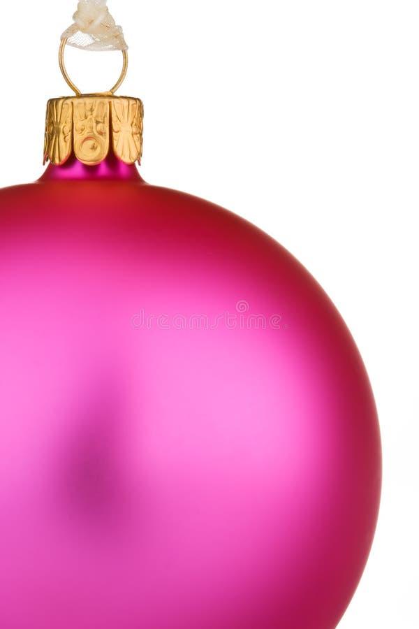 rose de Noël de babiole vibrant images libres de droits