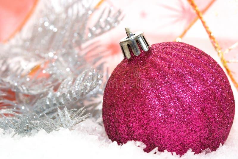 rose de Noël de billes photographie stock