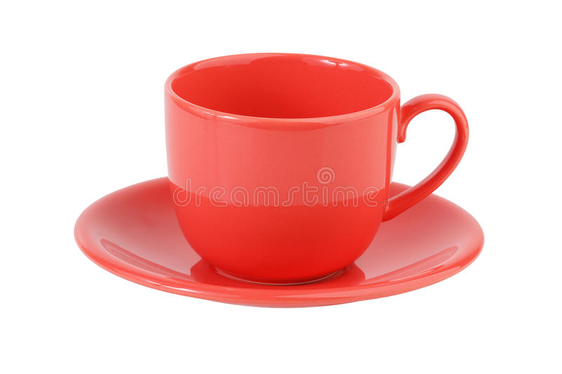 Rose de positionnement de café de porcelaine photo stock