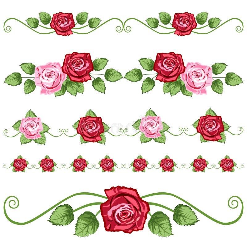 Rose dell'annata royalty illustrazione gratis