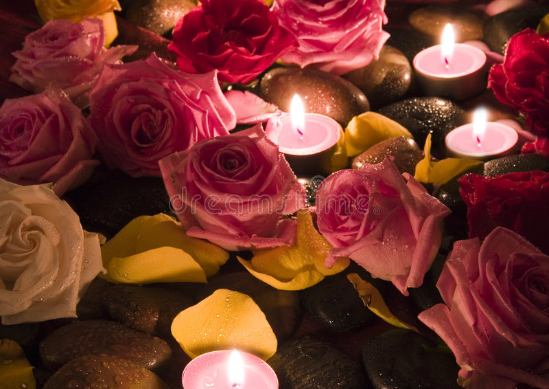 Rose della stazione termale fotografie stock libere da diritti