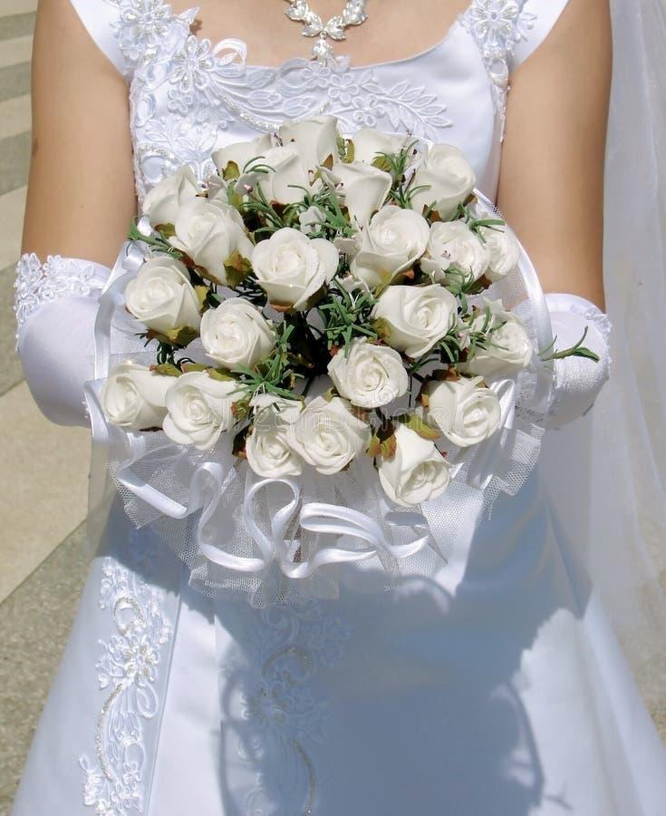 Rose di cerimonia nuziale fotografie stock libere da diritti
