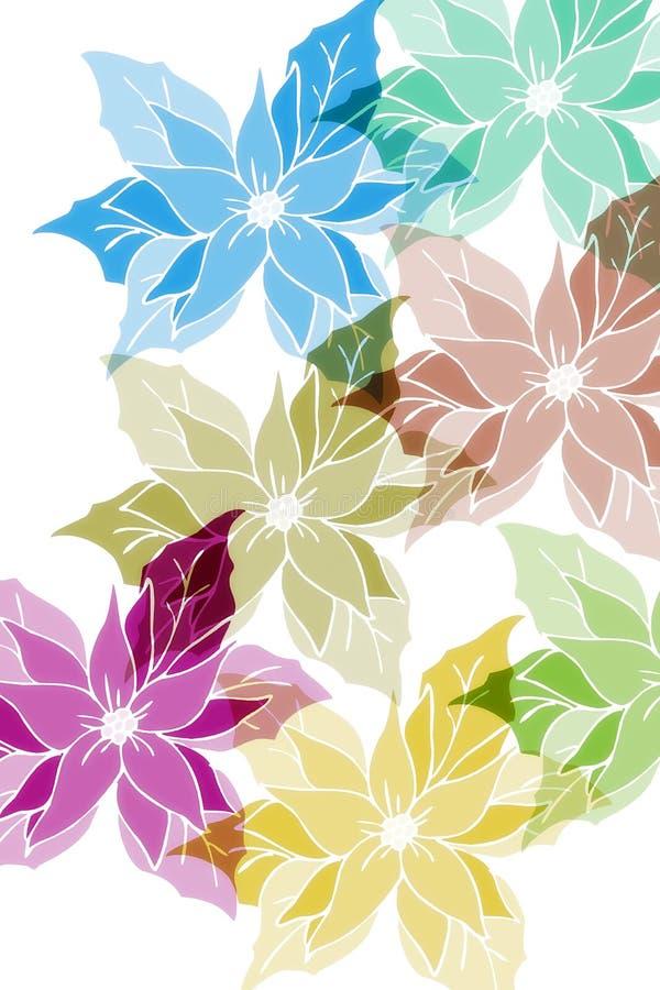 Rose di inverno illustrazione vettoriale
