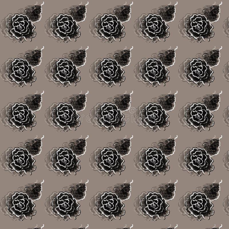 Rose Digital Paper Pack, rosas negras, boda, Scrapbooking, rosas, rosas del vintage libre illustration