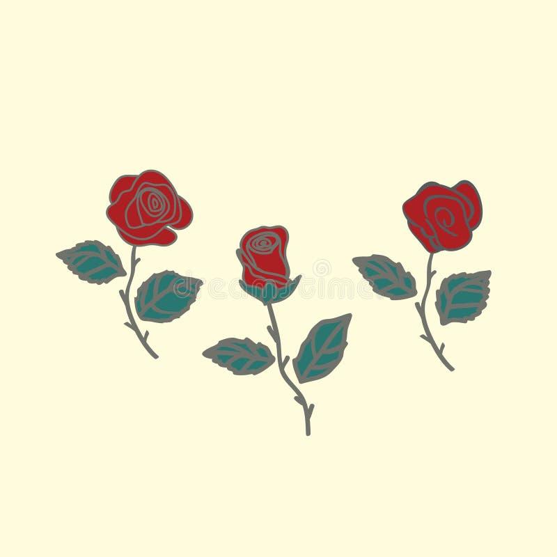 Rose en un fondo negro imagen de archivo