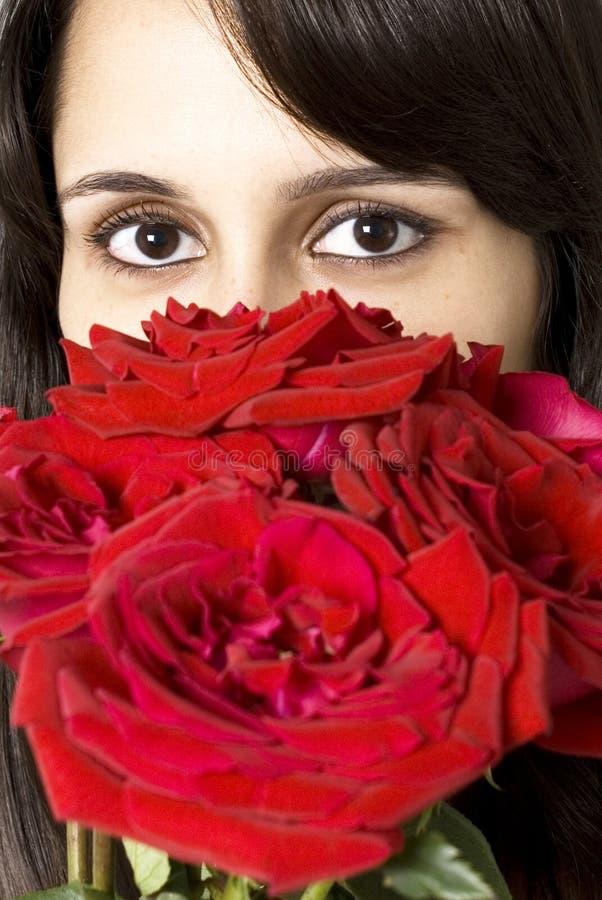 Rose Eyes royalty free stock photo