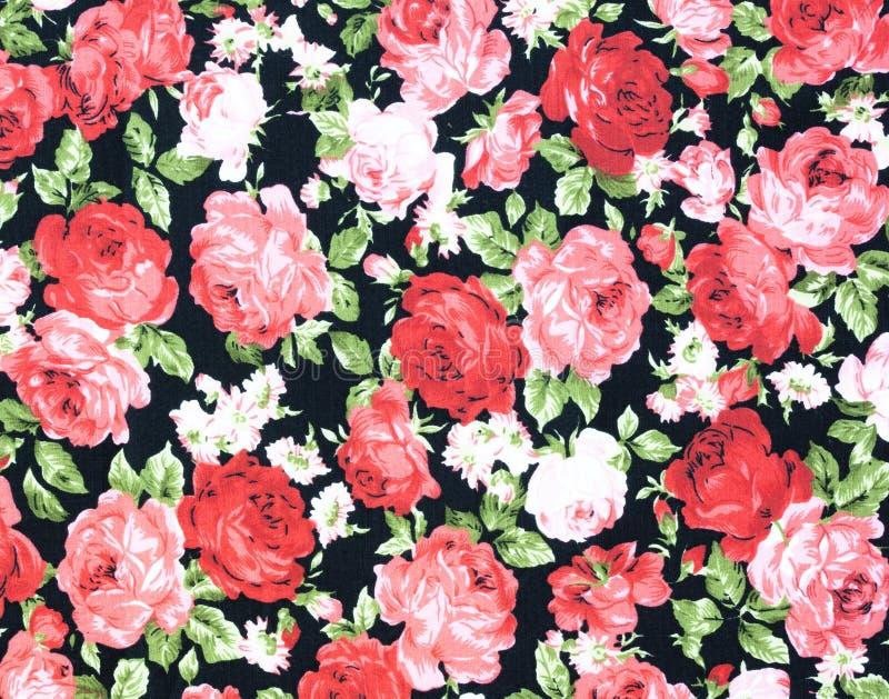 Rose Fabric bakgrund arkivfoton