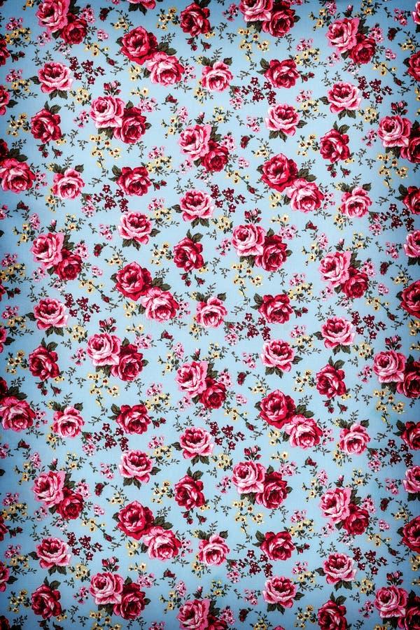 Rose Fabric , Rose Fabric background, Fragment of colorful retro stock photo