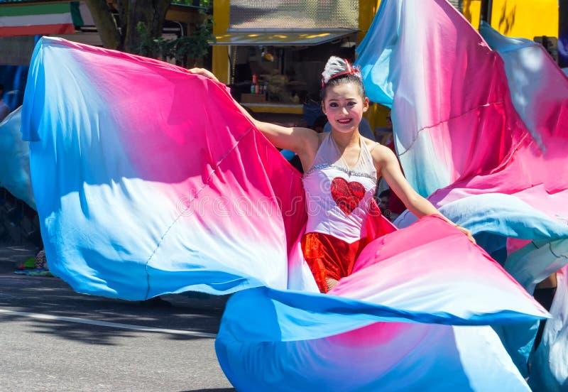 Rose Festival Dancer fotos de archivo