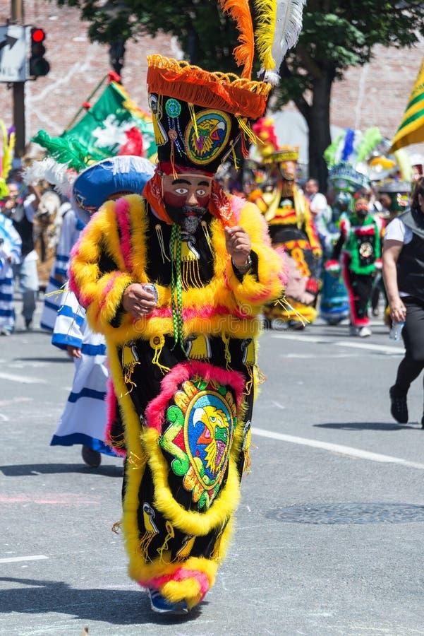Rose Festival Parade Costume fotografía de archivo