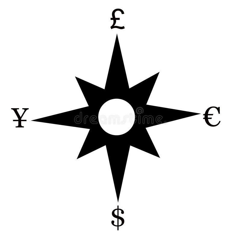 Rose Finansowego Wiatr Obrazy Stock