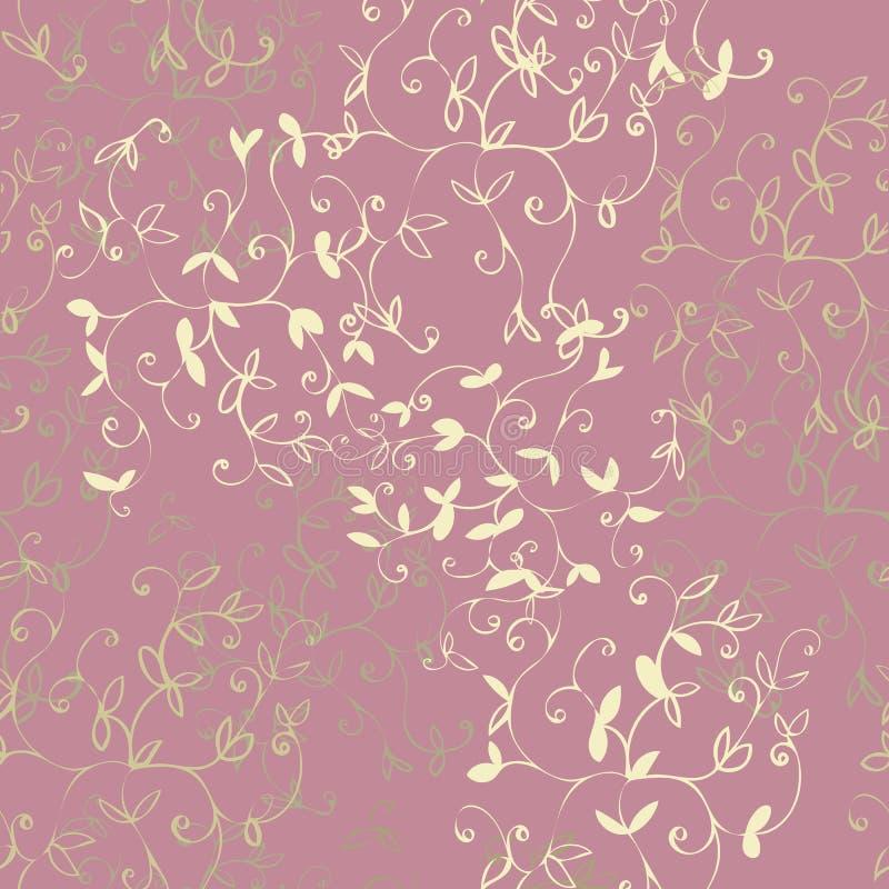 Rose Floral Repeat Print Pattern suave en vector ilustración del vector