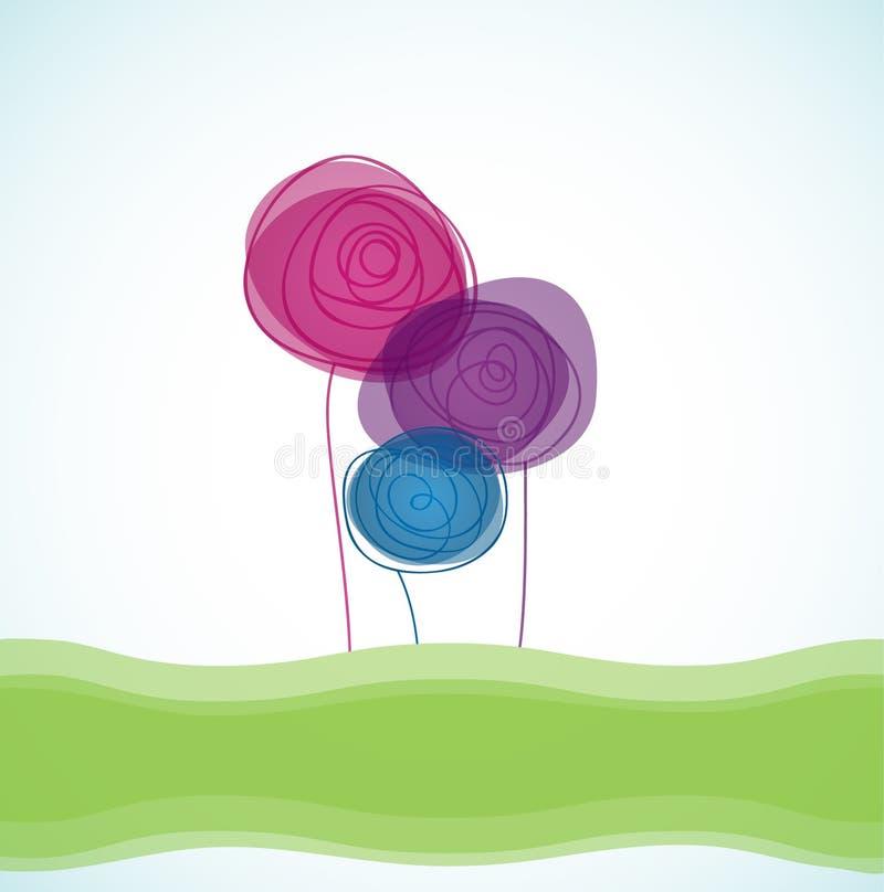Download Rose Flowers stock vector. Image of bloom, design, blossom - 15901990