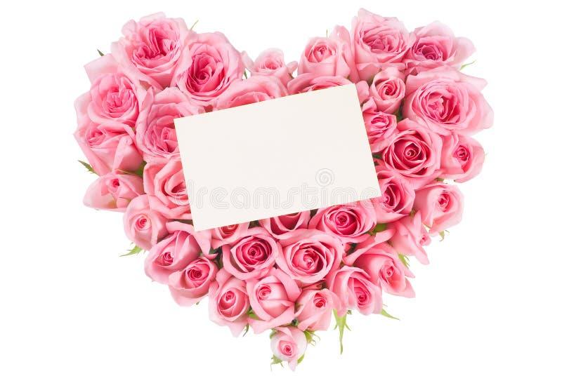 rose form för förälskelse arkivfoton