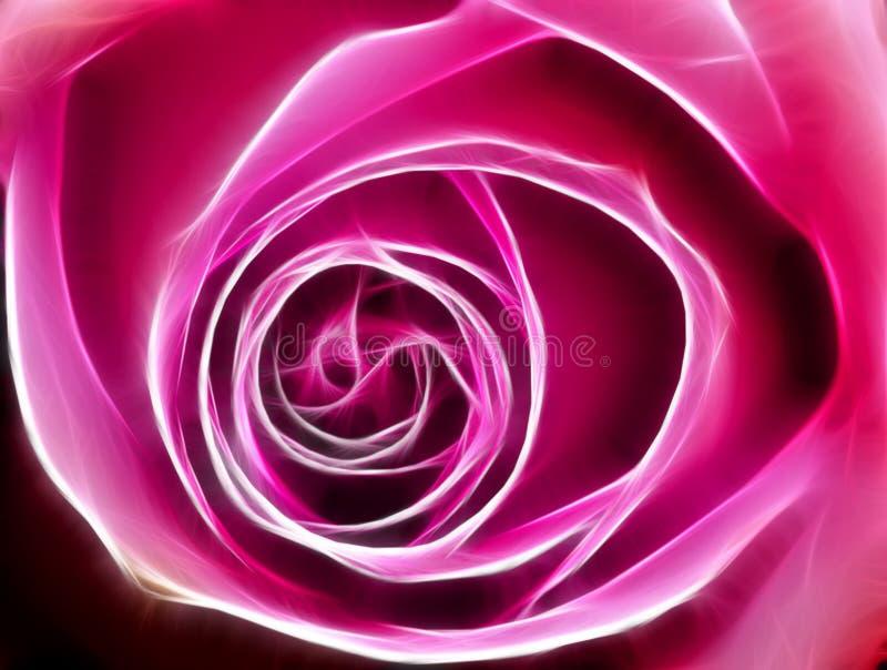 Download Rose fractal stock illustration. Image of rainbow, brush - 8229402