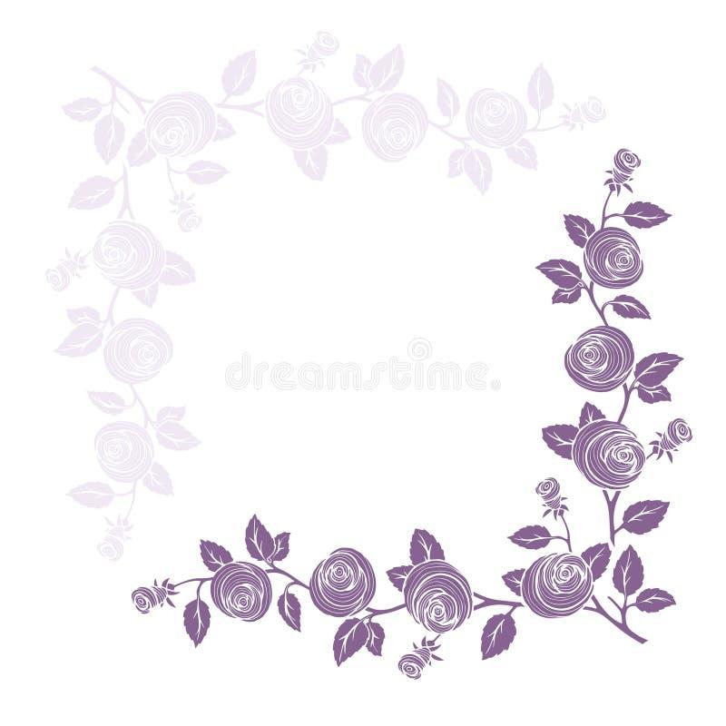 Free Rose Frame Royalty Free Stock Photos - 13389428