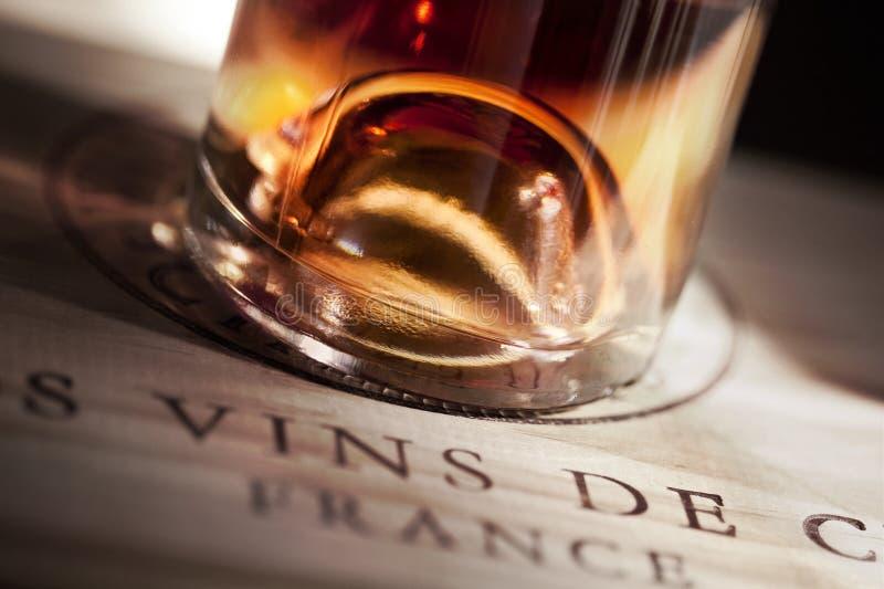 rose francuskiego wina obraz stock