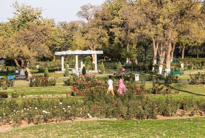 Rose Garden di Chandigarh immagini stock libere da diritti