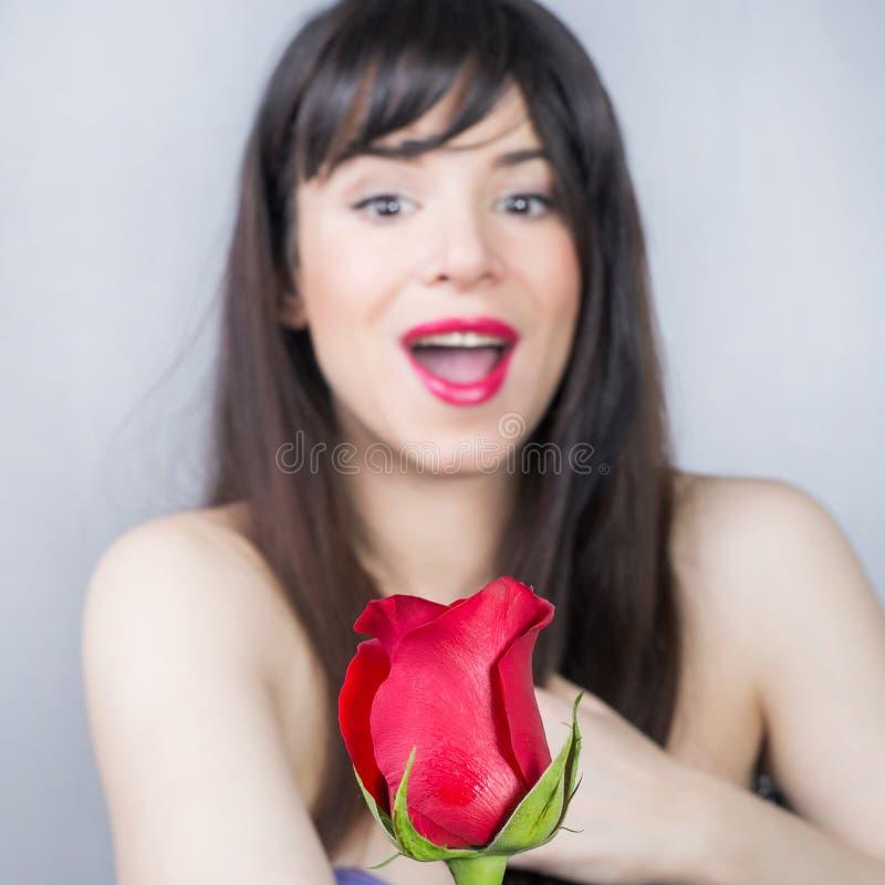 Rose Girl imagenes de archivo