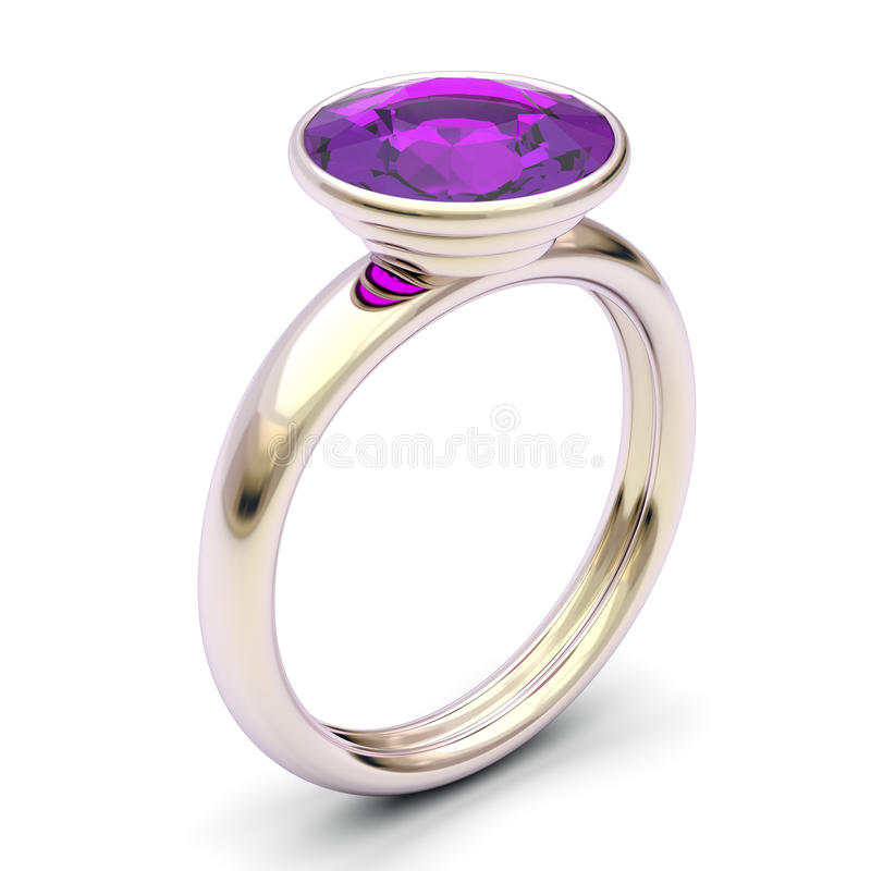 Download Rose gold ring stock illustration. Image of colored, accessories - 22362173