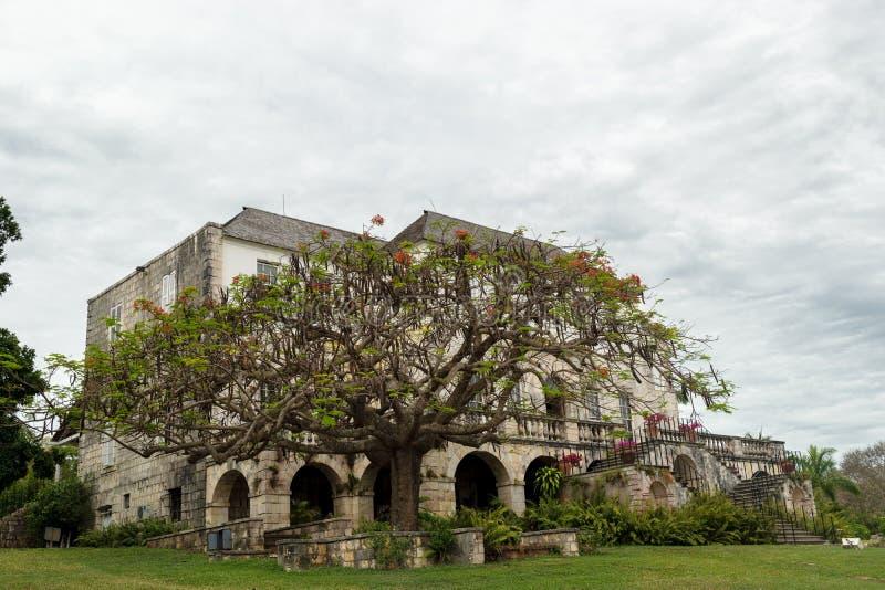 Rose Hall Great House in Montego Bay, Jama?ca royalty-vrije stock foto's