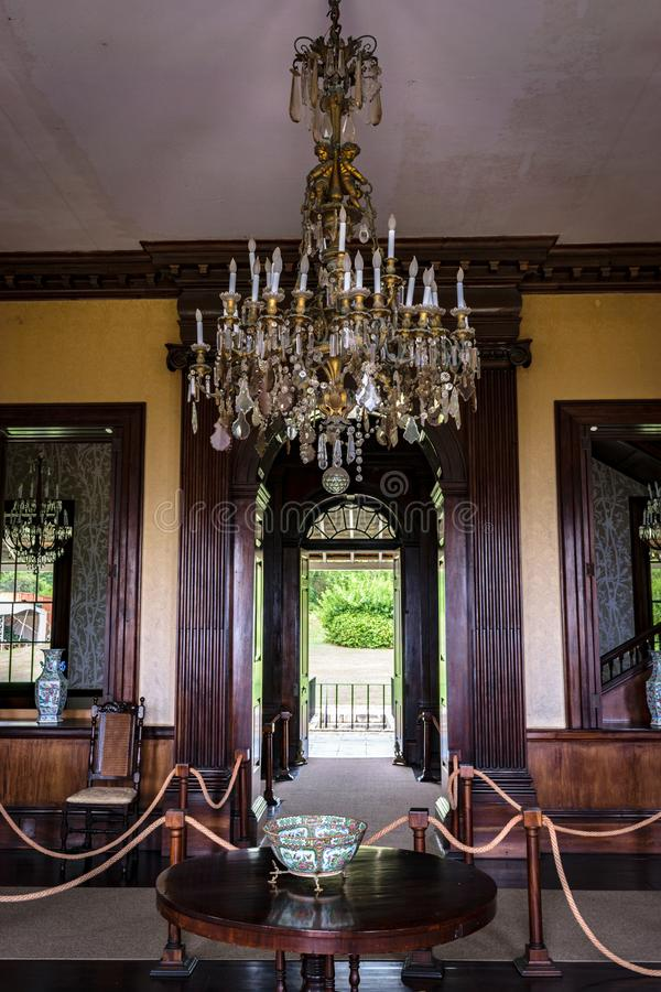 The Rose Hall Great House in Montego Bay, Jamaica. Popular tourist attraction. royalty free stock photo