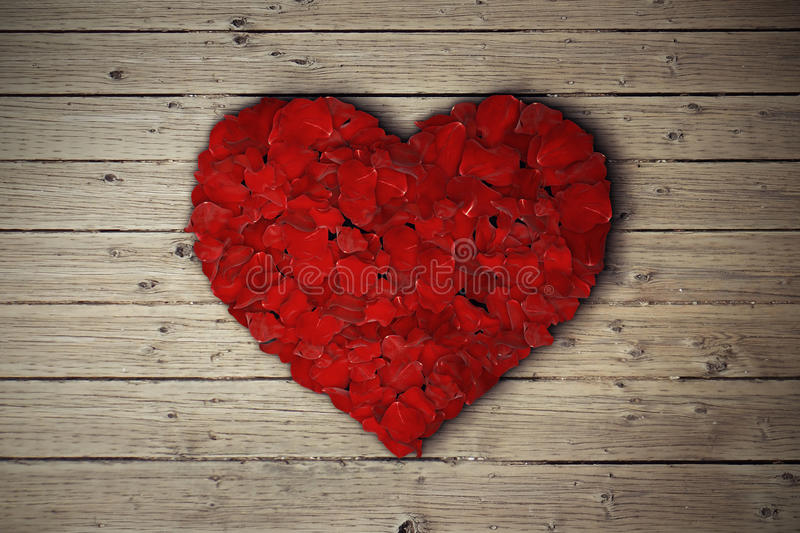 Rose Heart fotografia stock
