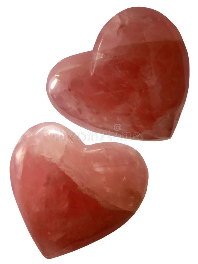 Download Rose Hearts Quartz Bohemian Ruby Stock Photo - Image: 5520096