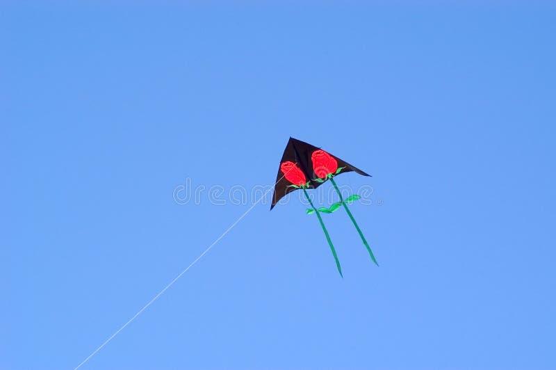 Download Rose Kite stock image. Image of play, stem, rose, flying - 102003