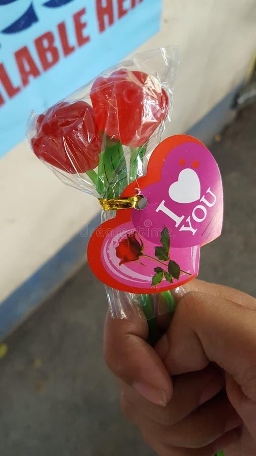 Rose Lollipop imagenes de archivo