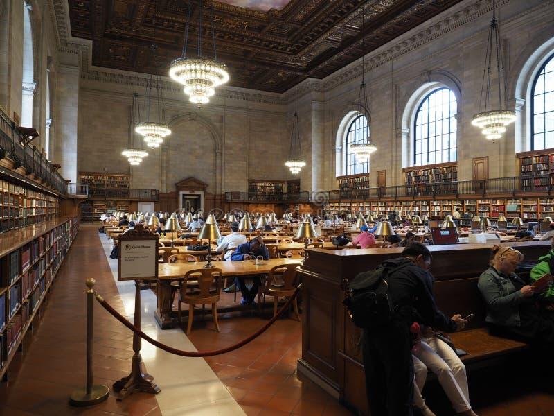 Rose Main reading room stock photos
