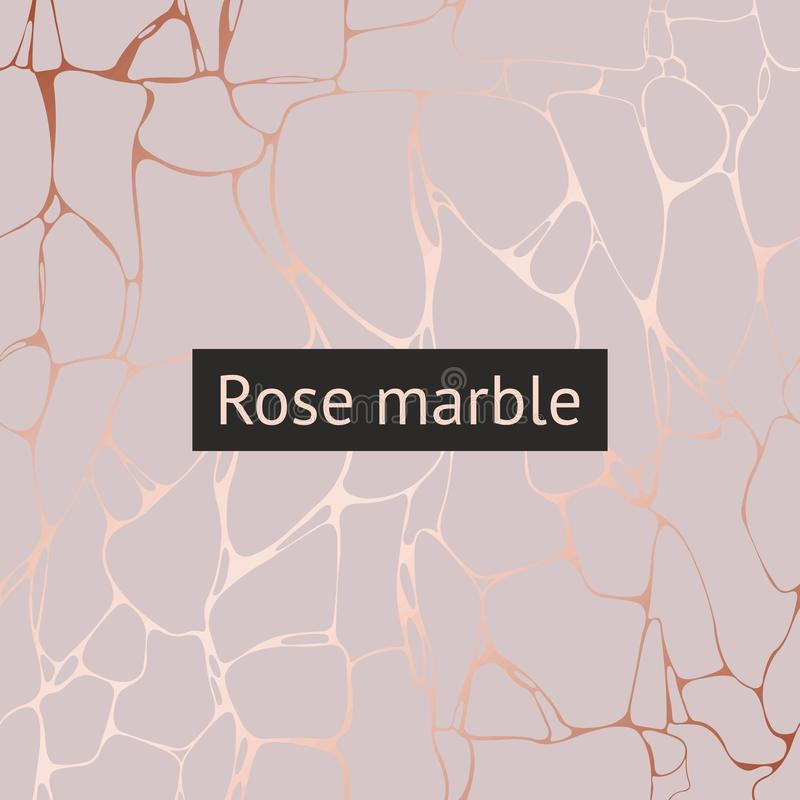Rose marble. Vector decorative pattern for design and drawing stock photos