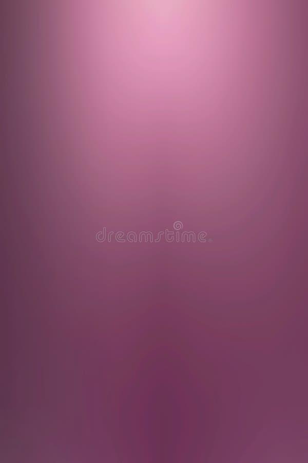 rose metalicznej gładką tło royalty ilustracja