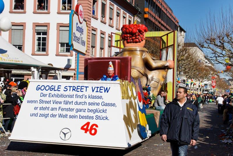 Rose Monday Parade (Rosenmontagszug) 2011 in Mainz