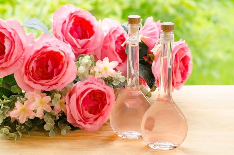 Rose Oil royalty-vrije stock foto
