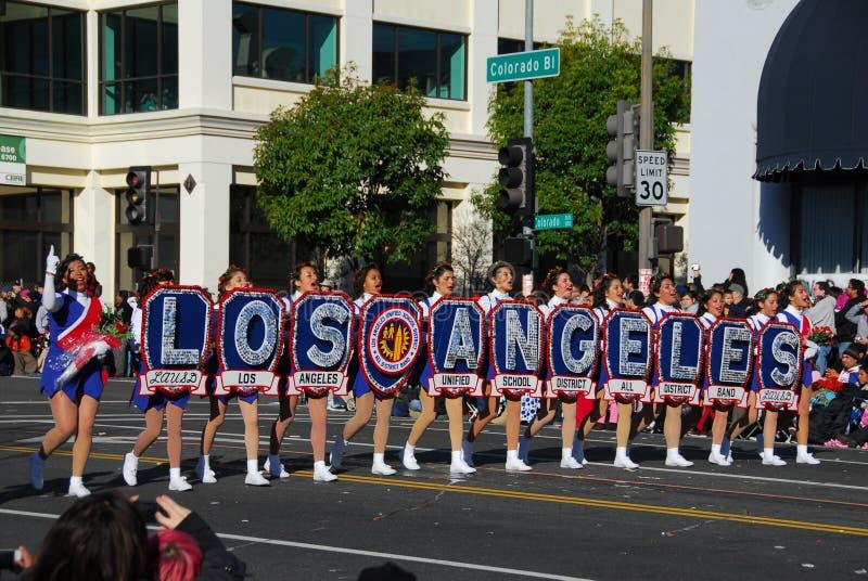 Rose Parade Pasadena 2011 stockfotos