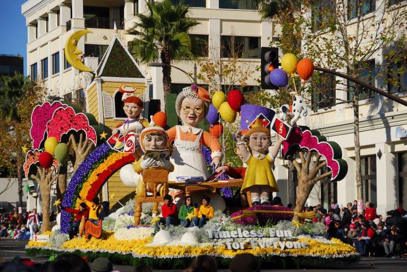Rose Parade Pasadena 2011 lizenzfreie stockfotos