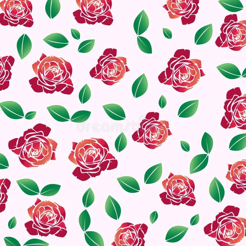 rose pattern vector illustration