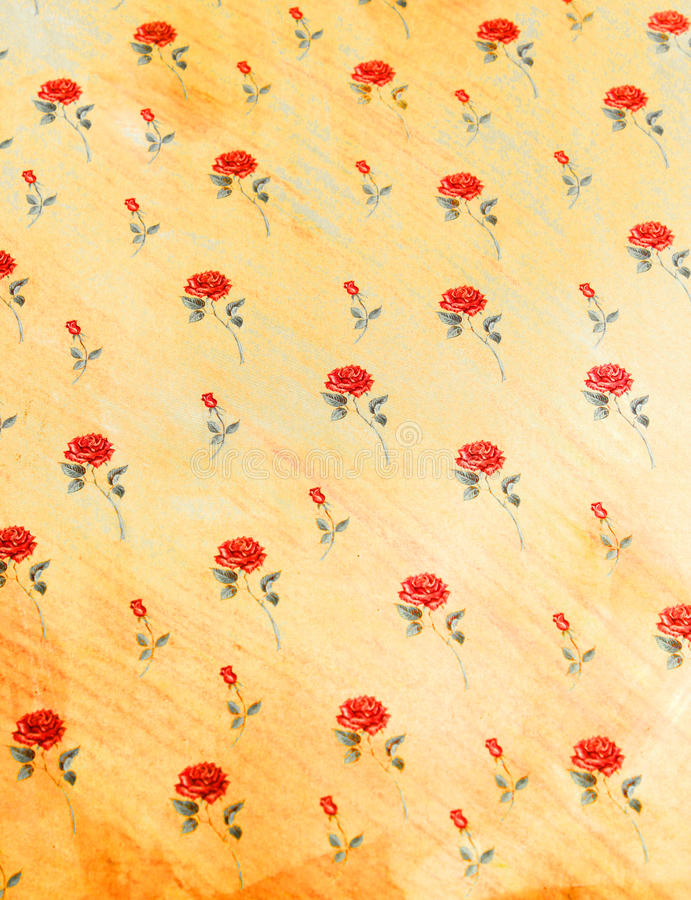 Rose Pattern. This photo shows a pretty rose pattern royalty free stock photo