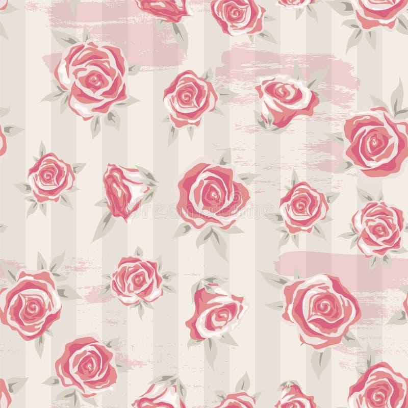 Download Rose Pattern 4 Stock Vector Illustration Of Interior
