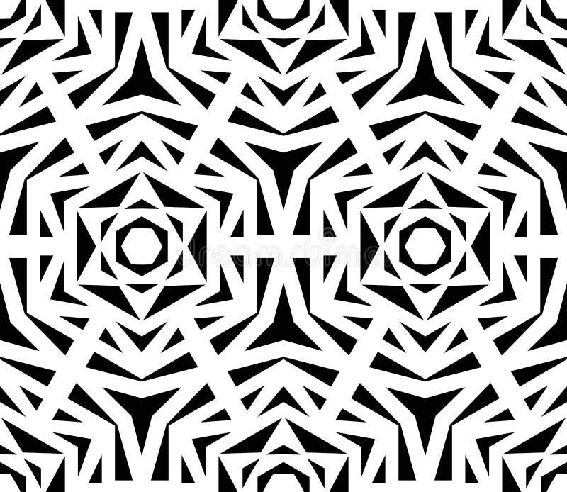 Rose Pattern noire abstraite illustration de vecteur