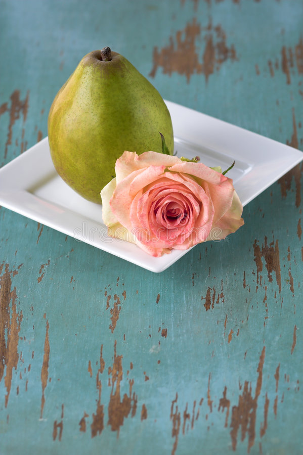 Download Rose And Pear Royalty Free Stock Photo - Image: 2318075
