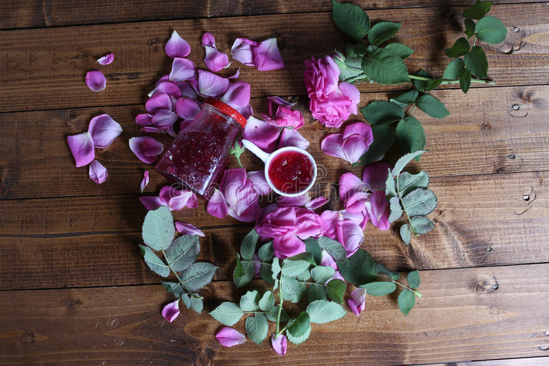 Rose Petal Jam lizenzfreie stockfotografie