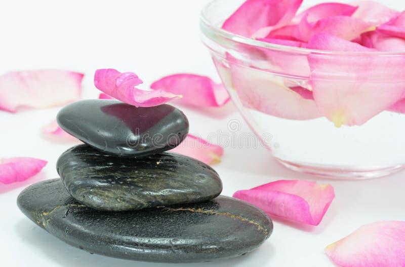 Download Rose petal spa stock image. Image of fragrant, aroma, meditation - 2786313