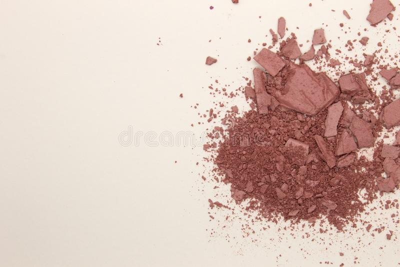 Rose Pink pulverrouge royaltyfri fotografi