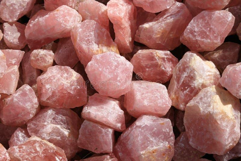 Rose Quartz royalty free stock photo