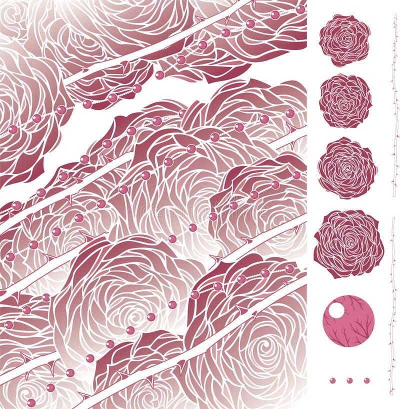Download Rose Quartz With Artbrushes Stock Vector - Image: 3889252