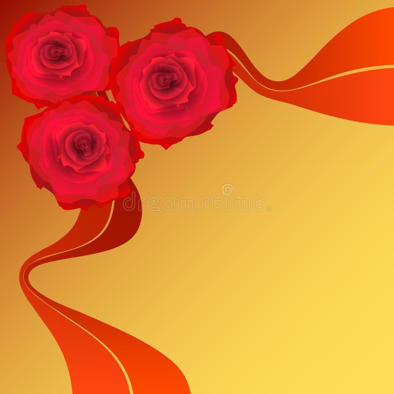 Rose rosse. fotografie stock libere da diritti