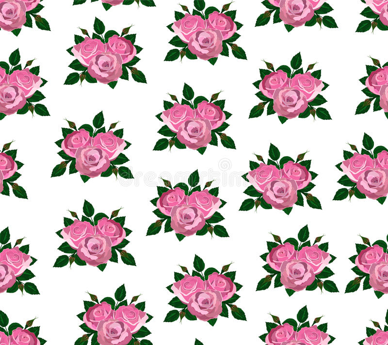 Rose senza cuciture di rosa della carta da parati for Parati particolari